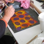 2009 W'shop: Dyeing with Dijanne Cevaal
