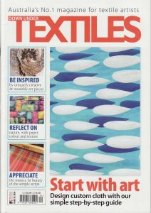 Down Under Textiles Iss.24 cover