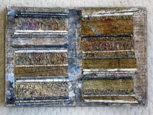 Stitches and Folds by Sandra Champion
