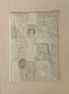 Verna Stoneman Stitched Wall Hanging - Viewers' Choice Prize 3rd (Copy)