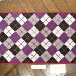 Carol Ireland Hooked rug