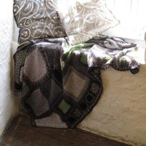 Felicity Matthews Throw Rug and Bridget Nichols Cushions