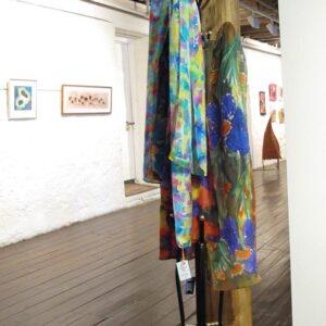 Fran Christie Painted Silk Scarves