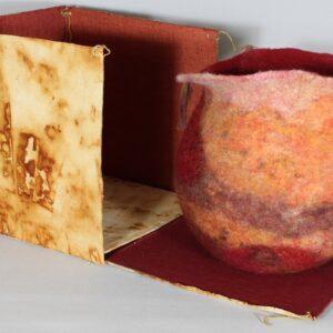 Jenny Blake felt bowl and box
