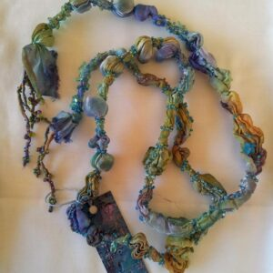 Mahdi Chandler Beaded Heat set necklace