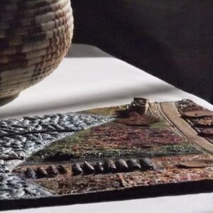 Making the most of texture in mixed media